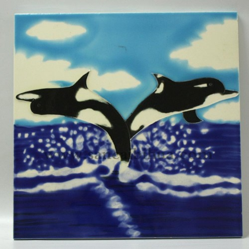 海洋动物装饰画