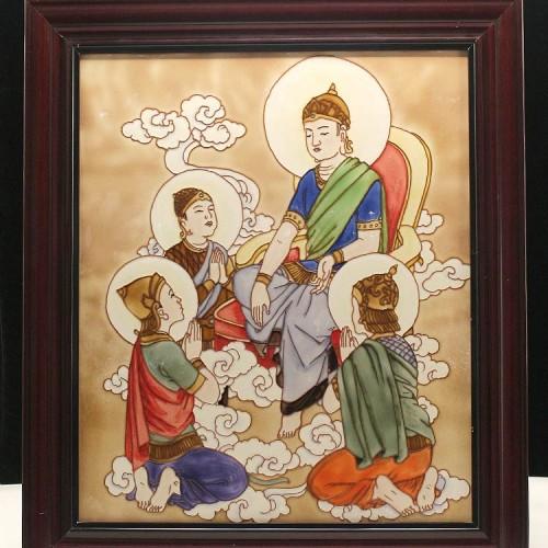 佛像瓷板画