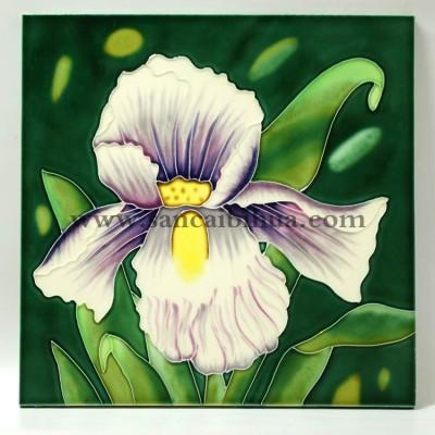 植物花卉瓷板画